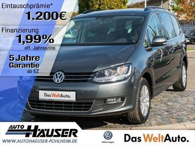 gebraucht VW Sharan 2.0 TDI BMT DSG COMFORTLINE