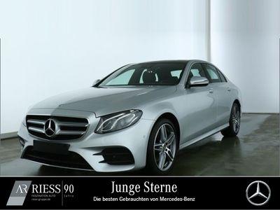 gebraucht Mercedes E220 4M AMG Sport Com LED Pano Wide 360 Spur