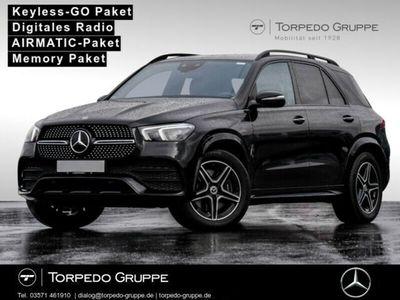 gebraucht Mercedes GLE450 AMG 4M AMG MEMORY.P+AIRMATIC.PAKET+TOTWINKEL