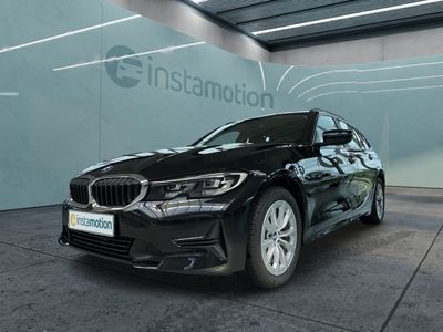 gebraucht BMW 318 318 d Touring Mild Hybrid LED Sport Lederlenkrad DAB