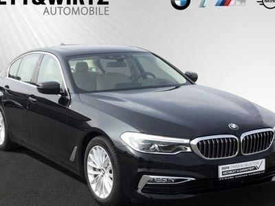 gebraucht BMW 530 d xDrive Limousine 18'' LM Navi HUD LED Alarm