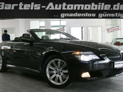 gebraucht BMW 635 Cabriolet dA Innovation, Leder, Navi