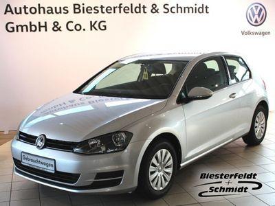 gebraucht VW Golf VII Trendline. AHK,ZV,elek. FH vo,Climatic