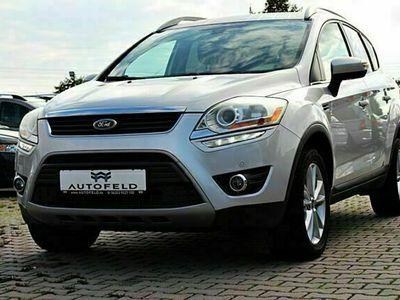 gebraucht Ford Kuga 2,0 TDCi 4x4 /AHK/NAVI/BT/R CAM/TEMP/SHZ/