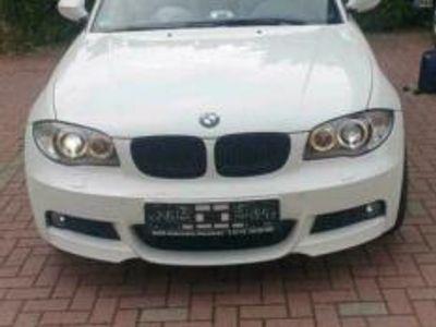 gebraucht BMW 120 Cabriolet i !! M-Paket !! Weiss !! Bit...