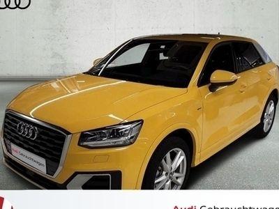 gebraucht Audi Q2 Sport S-Line PreSense LED Teilleder Automatik