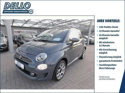 gebraucht Fiat 500C 1.2 E6d Sport AT Klima UConnect Mp3 Alu