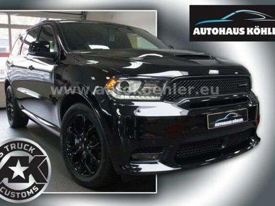 gebraucht Dodge Durango R/T Black Top LPG-Gas 7-Sitze Navi Voll