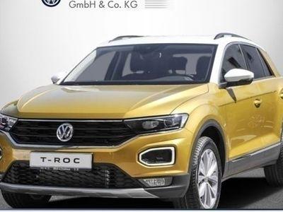 gebraucht VW T-Roc Style 1.5 TSI NAV LED ACC PDC GRA