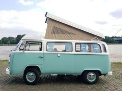 gebraucht VW T2 Bullib aquamarin Farbe