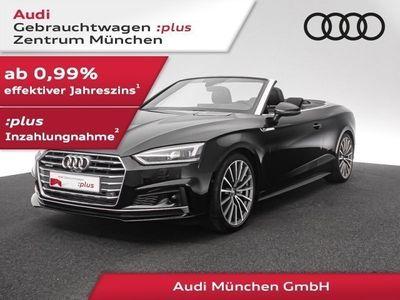 gebraucht Audi A5 Cabriolet 45 TFSI qu. S tronic 3x S line Matrix/HU