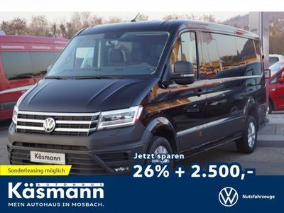 gebraucht VW Crafter Minibus AMF-Bruns Umbau 9-Sitzer 130kW 8-Gang Automatik