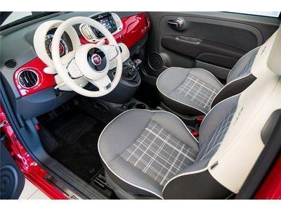 gebraucht Fiat 500C Cabrio Lounge 1,2 mit Klimaautomatik & PDC