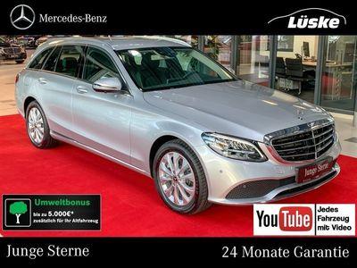 gebraucht Mercedes C300 T EXCLUSIVE Assistenz AHK CarPlay 360°