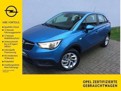 gebraucht Opel Crossland X 1.2 T Edition *PDC v+h*Allwetter*