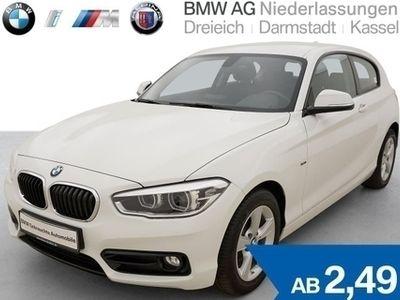 käytetty BMW 116 d 3-Türer Sport Line LED Fl.Ass. Tempomat