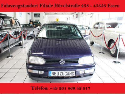 second-hand VW Golf 1.6