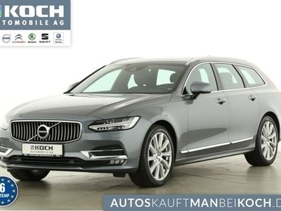 gebraucht Volvo V90 D4 AWD Inscription HUD+BLIS+PANO+KAMERA+++
