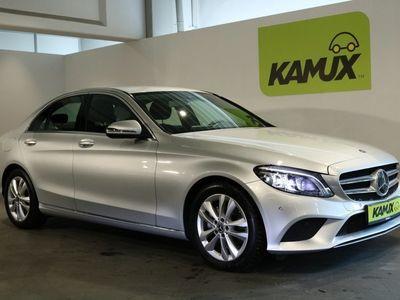 gebraucht Mercedes C220 d 9G-Tronic +LED ILS +Navi COMAND +Teil-Leder +Distronic