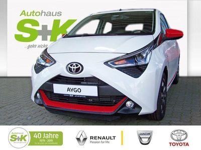 gebraucht Toyota Aygo 1.0l Benzin 5-Türer x-sky ABS Fahrerairbag