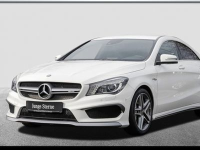 gebraucht Mercedes CLA45 AMG 4M+PerfAbgas+ILS+Navi+Spur+HiFi+Memo