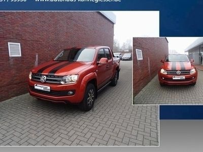 gebraucht VW Amarok 4Motion 2.0 BiTDI Canyon AHK PDC Leder