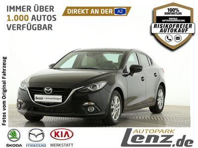 gebraucht Mazda 3 Sports-Line Xenon Navi Leder BOSE PDC SHZ FSE