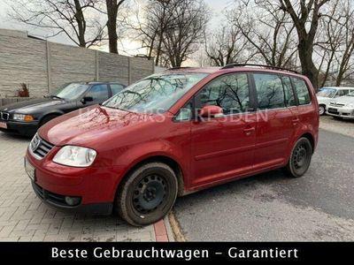gebraucht VW Touran 1.9 TDI DSG gepflegt. Sitzheizung!!