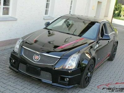 gebraucht Cadillac CTS 6.2l V8 Supercharged Black/Black Panorama als Limousine in Altenkunstadt