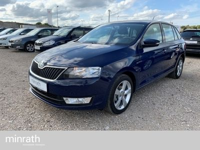 gebraucht Skoda Rapid Spaceback Cool Edition 1.2 TSI RDC Klima AUX USB MP3 ESP Spieg. beheizbar Sperrdiff.