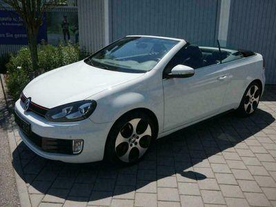 gebraucht VW Golf Cabriolet VI 2.0 TSI GTI * KOMFORT- & TECHN