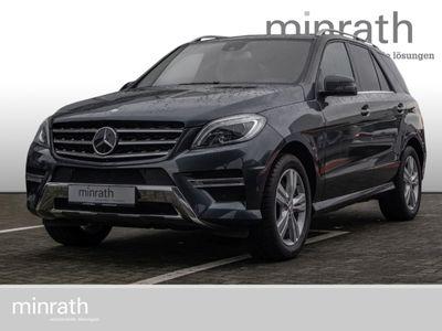 gebraucht Mercedes ML350 M-Klasse Blue Efficiency 4Matic Leder Xenon Navi StandHZG Allrad Klima