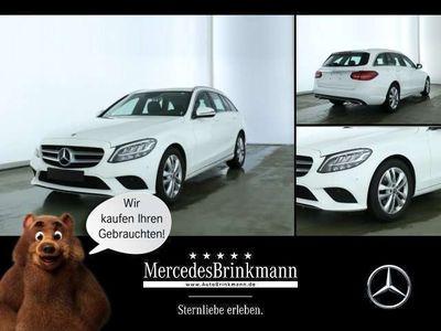 gebraucht Mercedes C220 d T-Modell AVANTGARDE/AHK/LED/NAVI/MOPF SHZ