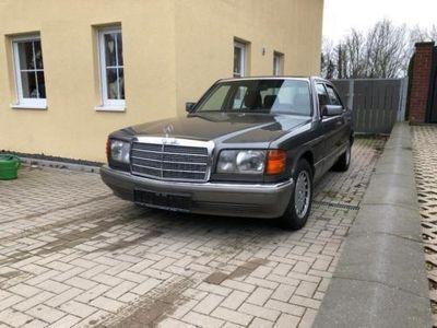 gebraucht Mercedes 420 W126, H-Zulassung möglich