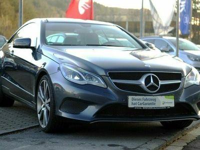 gebraucht Mercedes E250 Coupe BlueTEC Panoramadach Navi LED ab 1,9 als Sportwagen/Coupé in Schleiden