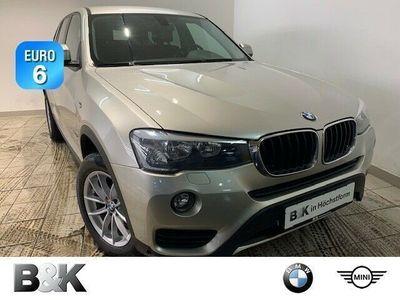 gebraucht BMW X3 sDrive18d Klima PDC el. Fenster