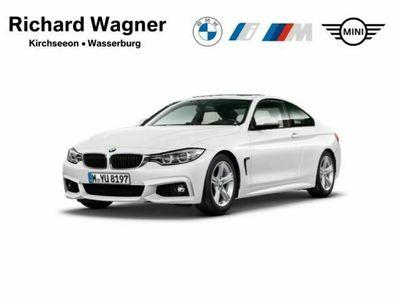 gebraucht BMW 425 d Coupe M Sport Leder LED Navi Kurvenlicht