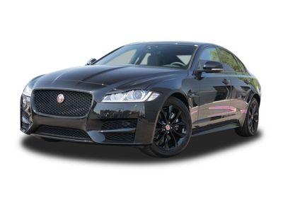 gebraucht Jaguar XF 20d AWD R-Sport Black DAB+/Navi/Memory Klima