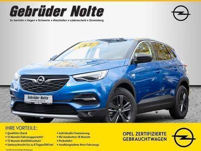 gebraucht Opel Grandland X 1.2 120 Jahre SHZ KAMERA NAVI LED