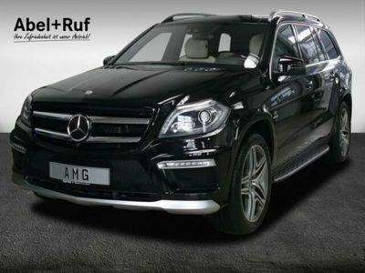 gebraucht Mercedes GL63 AMG AMG Distronic+ActiveCurve+Pano+Massage+AHK