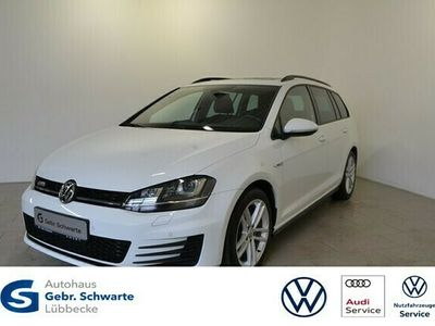 gebraucht VW Golf Variant 2.0 TDI DSG GTD AHK+PANORAMA+KAMERA