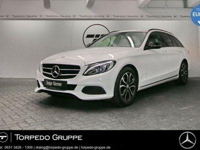 gebraucht Mercedes C220 d T LED+PTS+SHZ+KLIMA+Regensensor+Durchlad