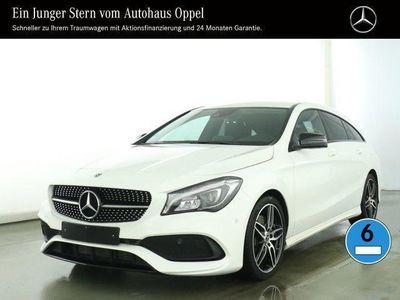 gebraucht Mercedes CLA220 4M SB AMGLine+Navi+Klima AMG Line Autom.