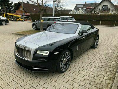 gebraucht Rolls Royce Dawn - Two-Tone- Black/Silver als Cabrio/Roadster in München