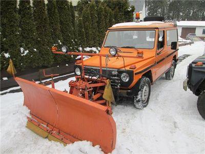 """gebraucht Mercedes G230 230GE""""Schneeräumer""""seltene Ausführung!"""
