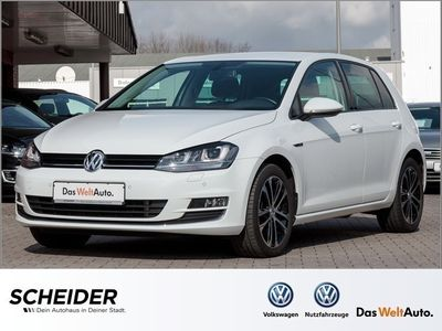 gebraucht VW Golf 1.4 TSI DSG Lounge + Navi Sitzhzg PDC