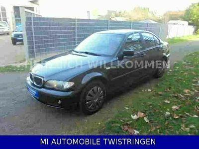 gebraucht BMW 316 I 2 HAND / Klima / AHK