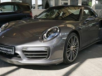 gebraucht Porsche 911 Turbo S 991 Navi LED Burmester Schiebedach