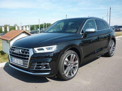 gebraucht Audi SQ5 TDI Luft AHK Pano b+O 21Zoll Matrix VOLL el. S