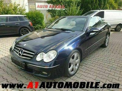 gebraucht Mercedes CLK320 CLK CabrioCDI Avantgarde
